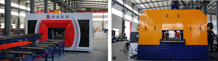钢结构三维数控钻床图片