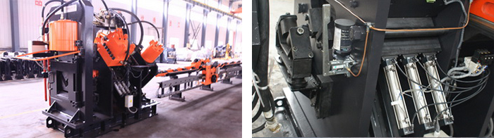 数控角钢冲孔生产线主机