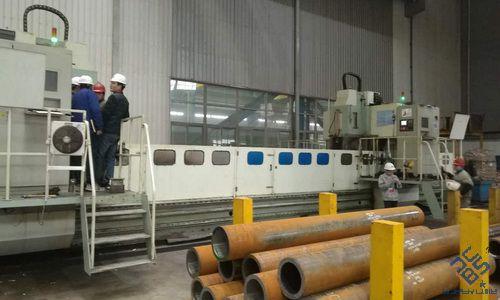 数控集箱钻床助力无锡大型锅炉厂