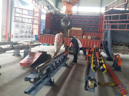 南京JX1412数控角钢线发货现场