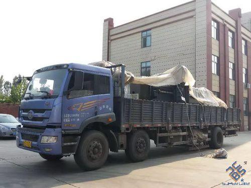 JX0808数控角钢线仲秋节前发往安徽