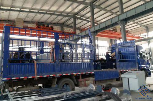 JX0808数控角钢线发往上海