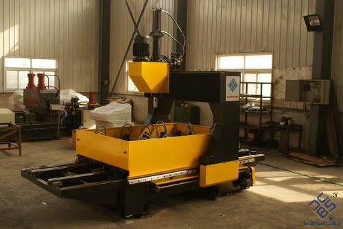 广西客户来厂验收CJ1610数控平面钻床